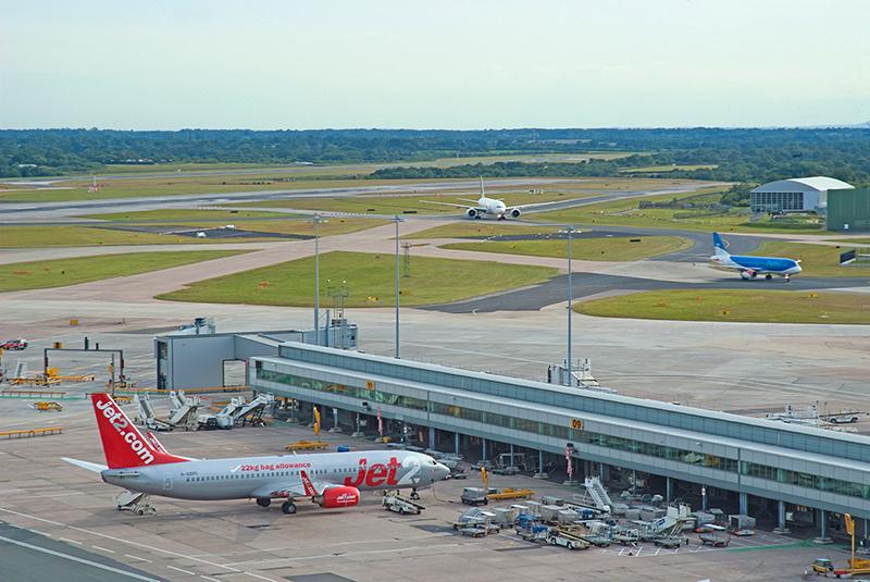 Manchester Airport Runway