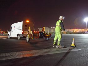 Runway Refurbisment Heathrow Airport