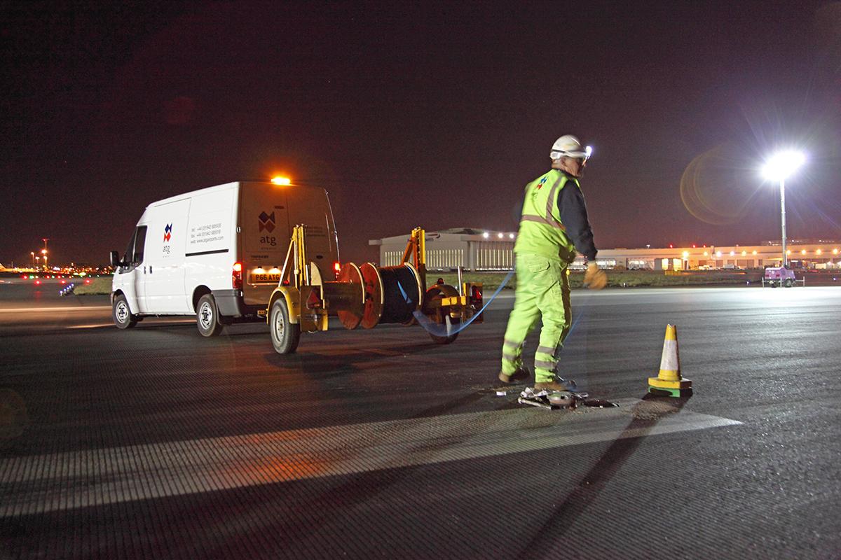 Runway Refurbisment Heathrow Airport