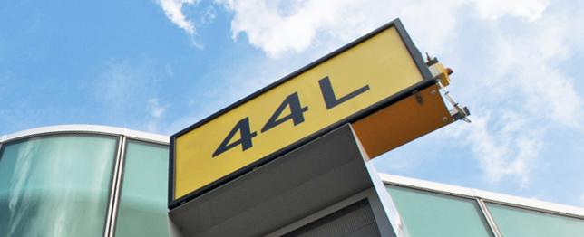 44 L Sign