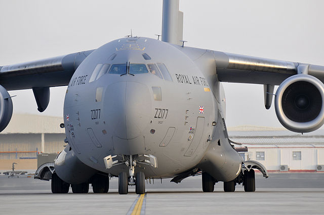RAF_C17_Transport
